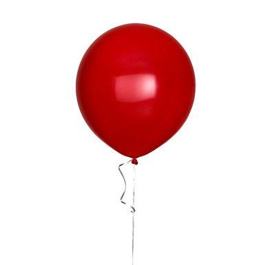 """Picture of 17"""" Round Balloon - Watermelon Red"""