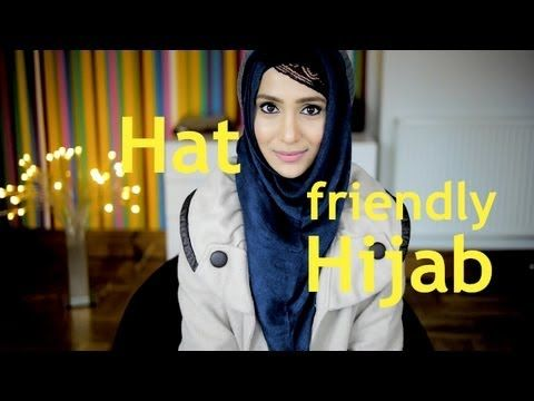 ▶ HAT HIJAB TUTORIAL & OOTD - YouTube