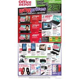 OFFICE DEPOT BLACK FRIDAY AD 2012