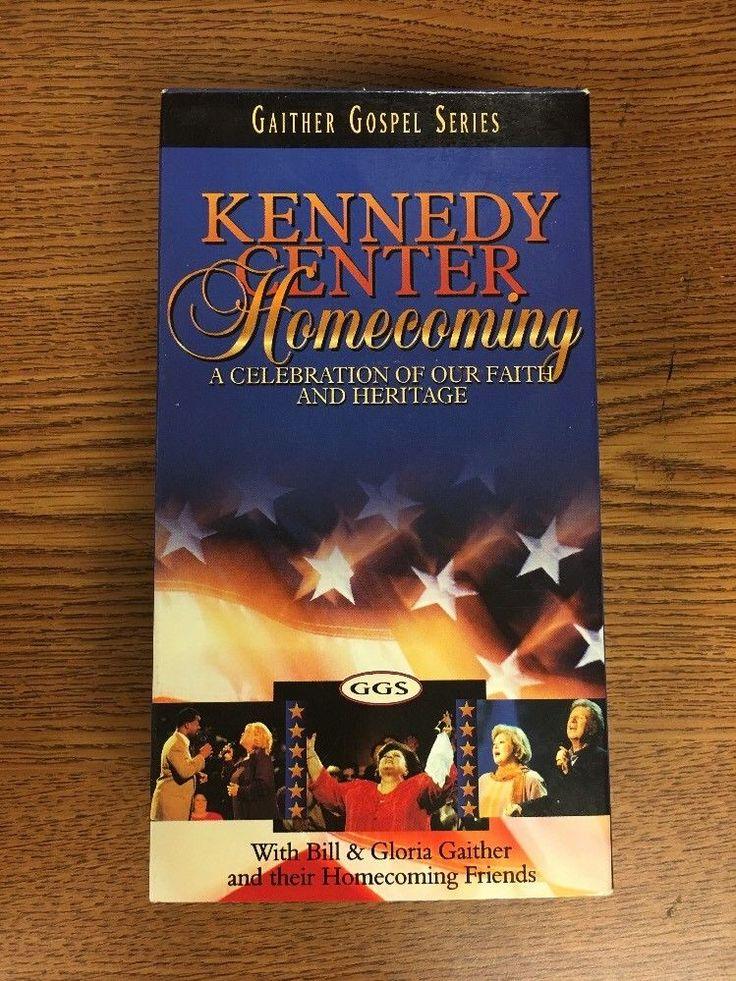 Gaither Gospel Series Kennedy Center Homecoming Two-Video Set Gospel Vhs 44K