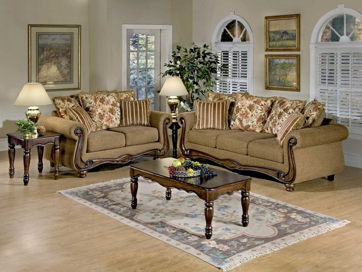 Lovely Macy Chesnut Sofa U0026 Loveseat #sofa #loveseat #livingroom #rana  #ranafurniture #