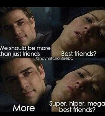 The Hunger Games- Gale/Katniss [Friend zone]