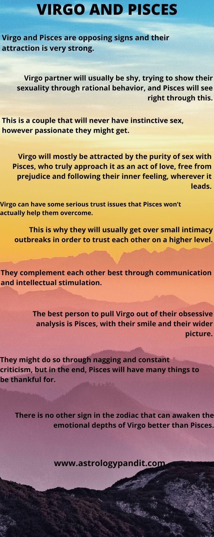 Virgo man Pisces woman compatibility in love online (Virgo