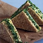 Een heerlijk recept: Sandwiches met ei waterkers en bieslook