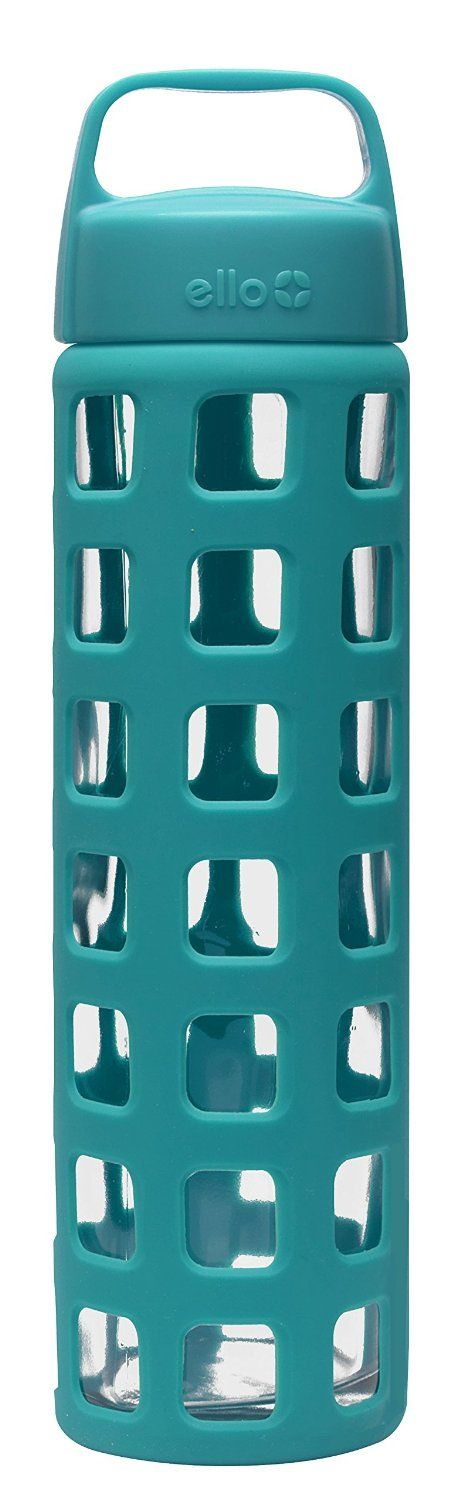 A glass water bottle for less than $10 is hard to find. But, I found it! click image for info on where to buy