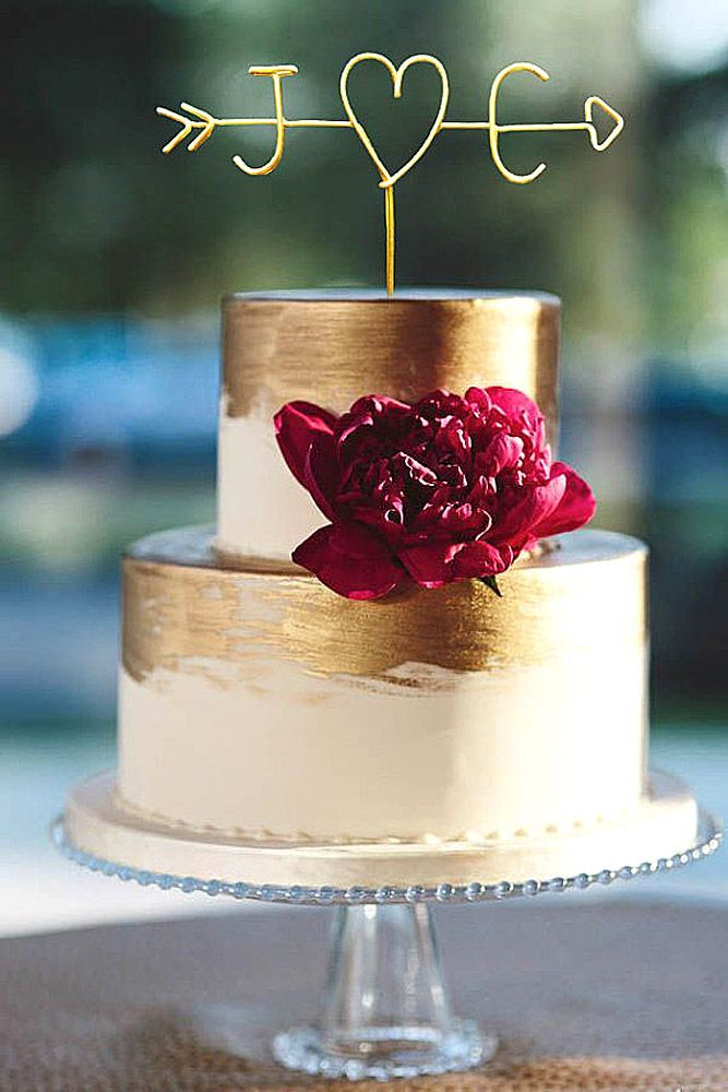 18 Exquisite Mini Wedding Cakes For Your Wedding ❤ See more: www.weddingforwar... #wedding #cakes
