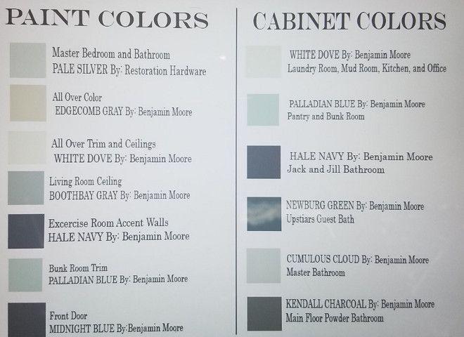 cabinet paint colorshouse