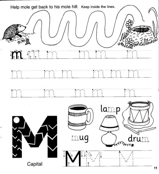 Jolly Phonics Workbook 2 c k e h r m d   Jolly phonics ...