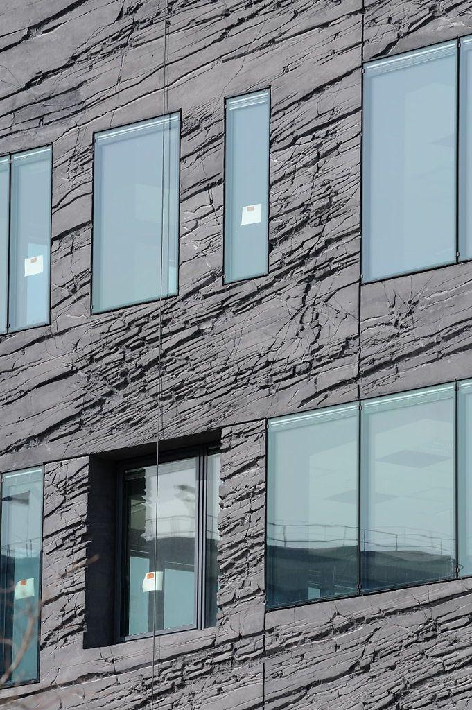 Béton projeté texturé, Atelier Jean Nouvel à Boulogne