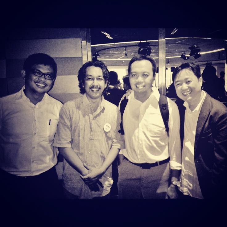 Irvan Suryanto, Arief 'Ayip' Budiman, Arief Budiman and Andi S. Boediman