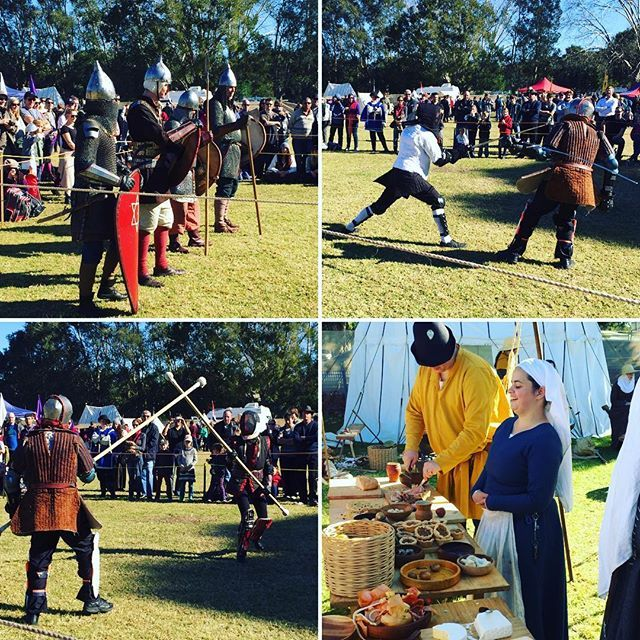 Jon Snow! King of the North! Had fun at the medieval fair today #winterlightparramatta #holidays #medievalfair