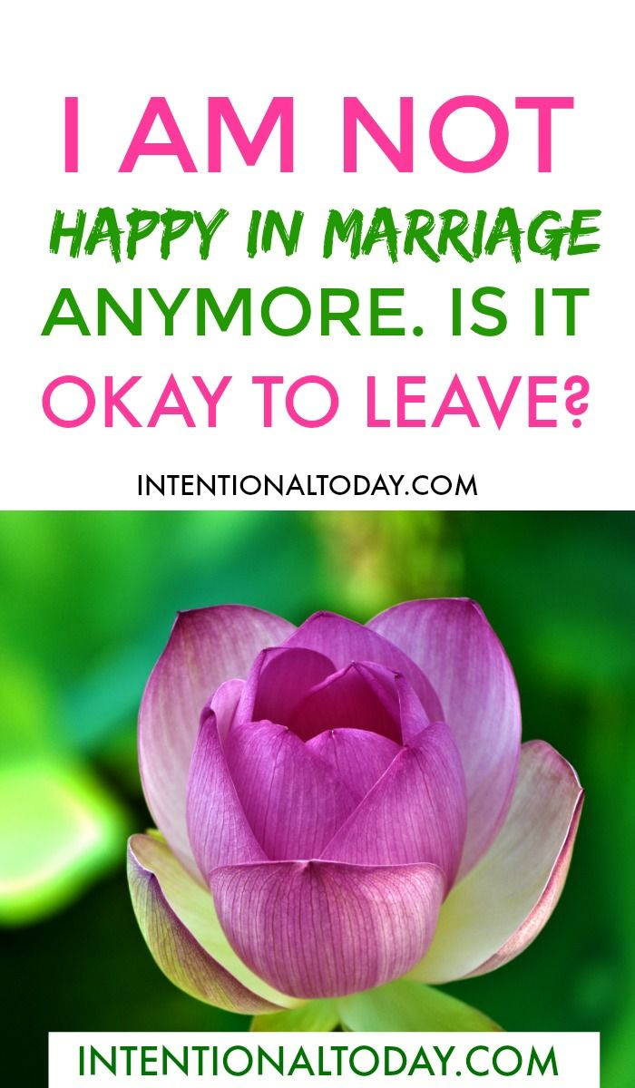 best way to leave a marriage