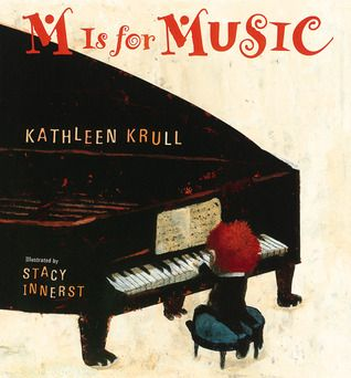 Books About Music For Kids - No Time For Flash Cards m is for music