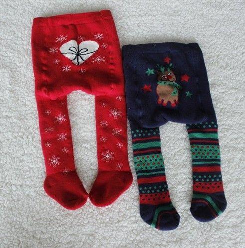 2014 внешней торговли рождественские чулки колготки женщины детские младенцу толстые махровые носки теплые леггинсы - Taobao