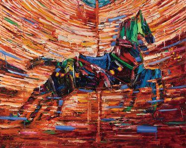"Saatchi Online Artist Seok Young Kim; Painting, ""Merry go round"" #art"