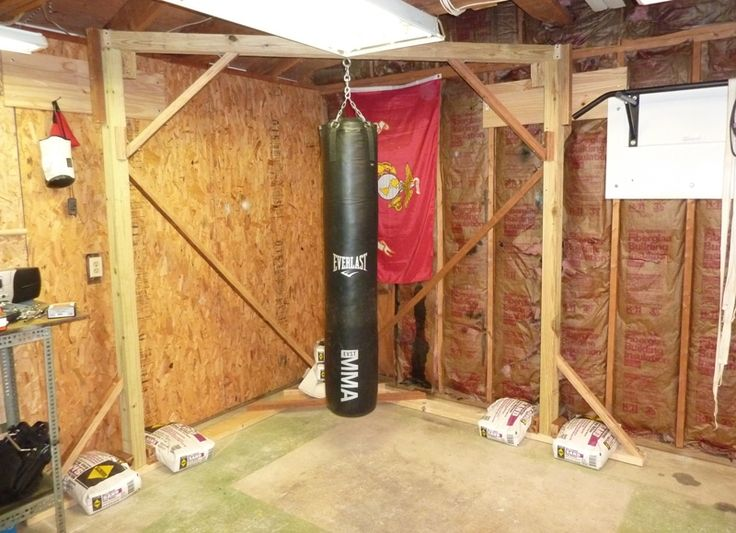 Heavy bag stand without worrying about punching away at
