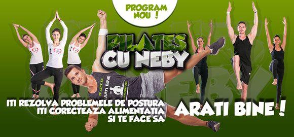 Pilates cu Neby - Antrenor personal de Fitness