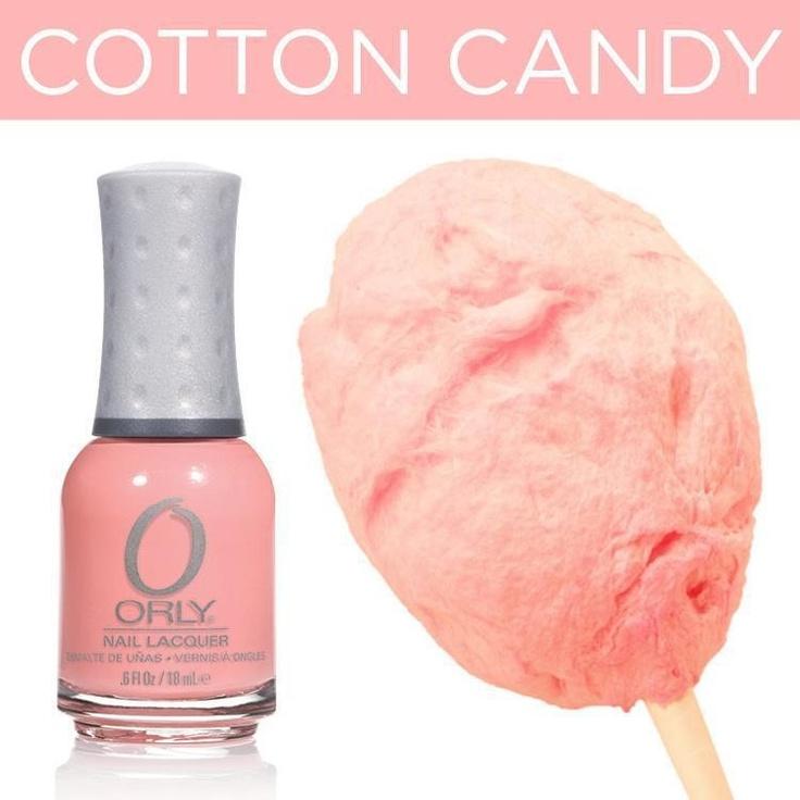 Cotton Candy Satin Fingernail Polish: 516 Best Orly Nail Polish Images On Pinterest
