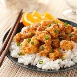 Chinoise Poulet à l'orange - le meilleur que je
