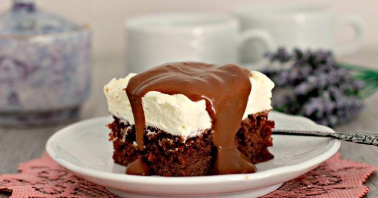 Очень вкусный, нежный и шоколадный пирог!