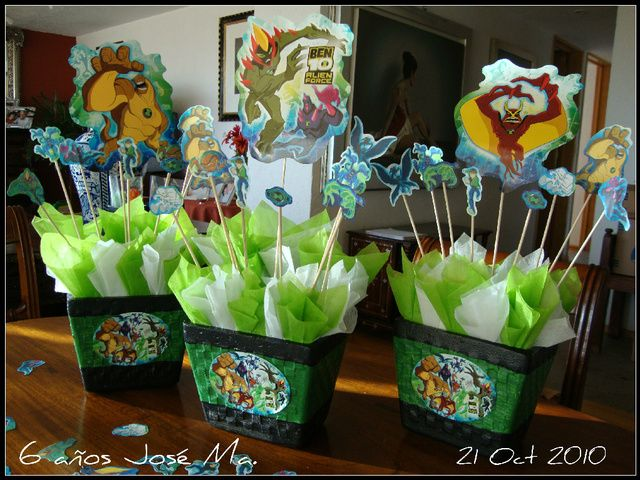 ben 10 Birthday Party Ideas | Photo 3 of 55