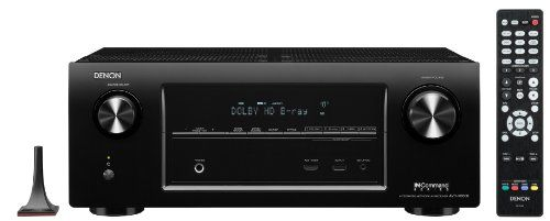 Denon AVR-X3000 7.2-Channel 4K Ultra HD Networking Home Theater Receiver with AirPlay 7.2 channel, DTS Neo:X (7.1ch), Audyssey DSX, Dolby Pro Logic IIz. 4K Ultra HD video scaling and pass-through; Networking with AirPlay, Pandora, Spotify, & Sirius XM Internet Radio. 2-zone/2-source via variable pre-outs and Amplified zone with Digital-in Zone out. New easy to use speaker connectors (horizontal la... #Denon #Receiver_or_Amplifier
