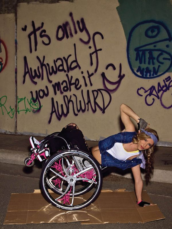 Chelsie Hill kept dancing, even after a paralyzing accident. (Photo by D + B Photography)