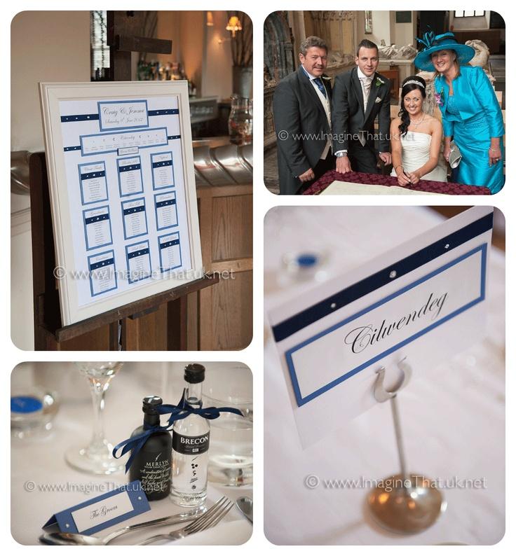 Blue wedding - Real White Crafts Brides