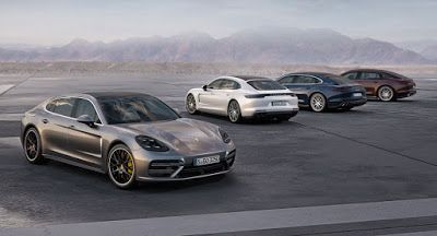 "2017 Porsche Panamera Ruft Entry-Level-V6 Turbo Modelle und gestreckt ""Executive"" Version Galleries LA Auto Show New Cars Porsche Porsche Panamera Porsche Videos Video"