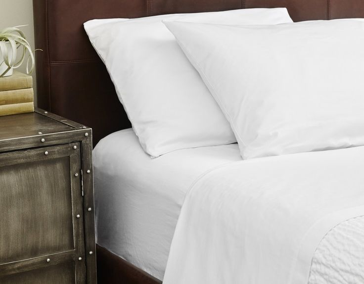 Centima Sheets by Standard Textile 250TC, White