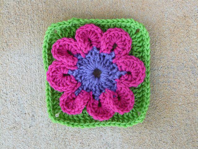 101 Crochet Stitches Jean Leinhauser : Ravelry: crochetbug13s Square 16