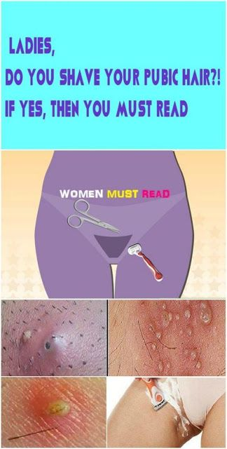 Best way to shave your pubic hair female