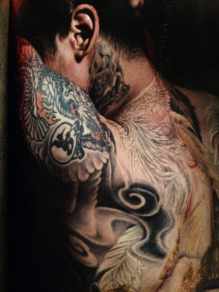 Dir en grey, Kyo, tattoos