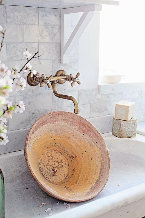 Einfarbige Selbstklebende Tapeten : 1000+ Bilder zu Salle de bain et salle d'eau auf Pinterest