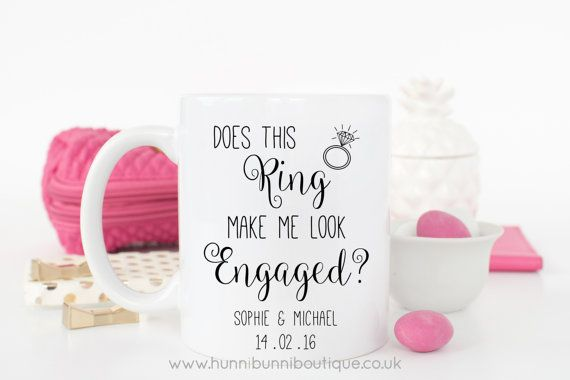 Does This Ring Make Me Look Engaged by HunniBunniBoutique on Etsy
