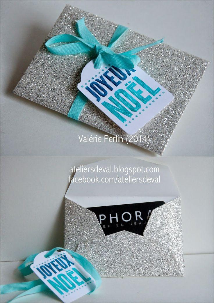 Les ateliers de val boite scintillante et son porte carte et bon cadeau pochette carte cadeau - Carte cadeau ikea france ...