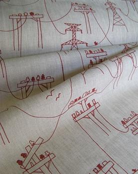 Powerlines fabric