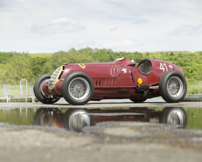 F1 - this 8C-35 Grand Prix car became one of the most expensive Alfa Romeo of all time selling for £5.9m at a Goodwood Auction in Sept 2013. Alfa+Romeo+8C-35+Grand+Prix+racer+sells+for+record-setting+$9.4+million