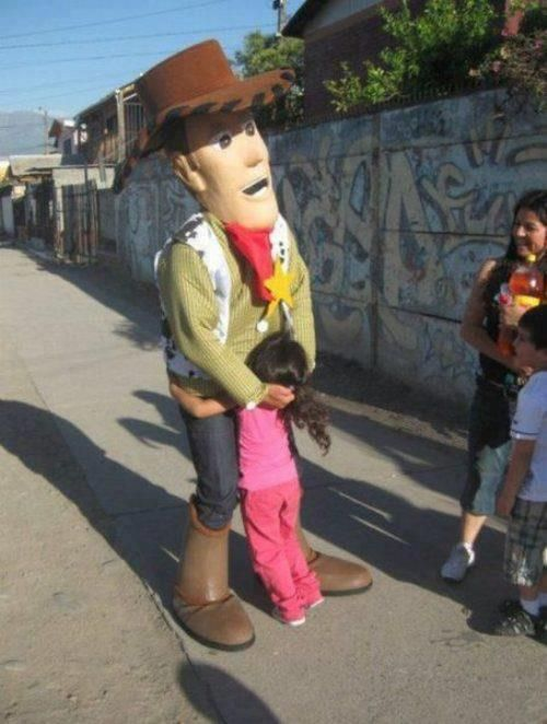 Toy Story gone wrong.