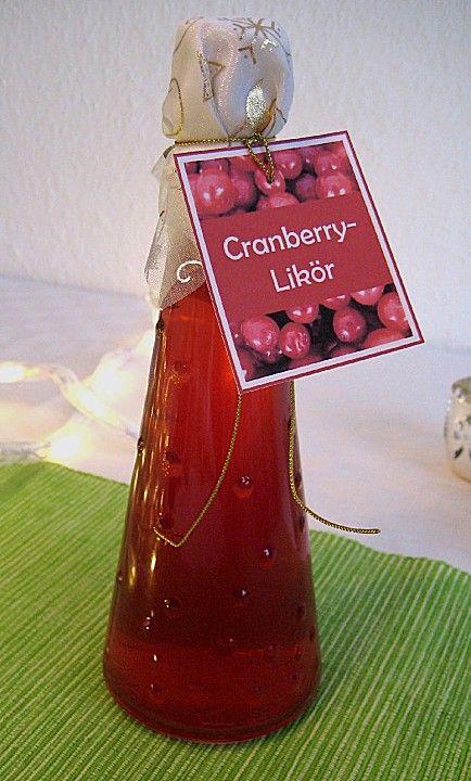 Angys Cranberries - Likör