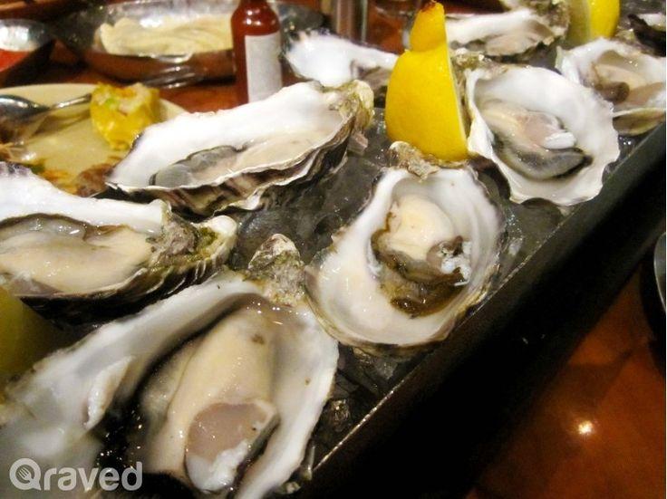 Fresh Australian Oysters at C's Steak & Seafood Restaurant