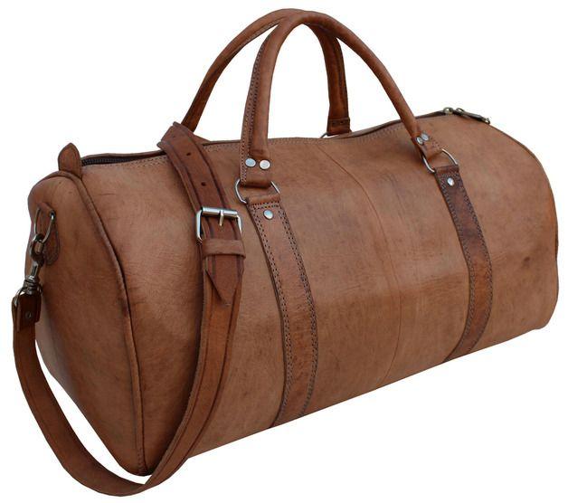 Tuscany Leather - Prague - Sac de voyage en cuir Marron foncé - TL1048/5 bwMGJ