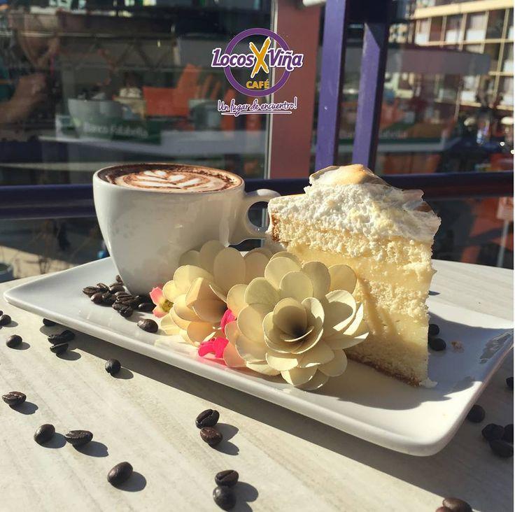 Un Cafe con una torta 3 Leches para empezar el dia de la mejor manera... o simplemente endulzar la tarde para dar el ultimo esfuerzo de trabajo!