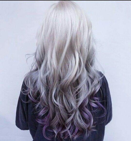 dégradé ombré purple
