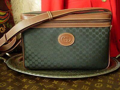 RARE Vintage GUCCI Cosmetic TRAIN CASE Tote Suitcase Luggage Travel Accessory