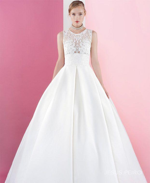 Beautiful Jesus Peiro design at Miss Bush Bridal #bridalboutique #bridal #weddingdress #jesuspeiro