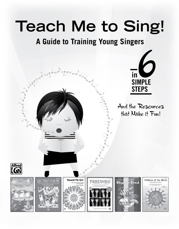 """Alfred's FREE """"Teach Me to Sing"""" sampler helps you train young singers in 6 simple steps! It features several elementary resources, along with complete sample pages that you can try out! Includes products for: Echo Songs * Unison Singing * Rounds & Canons * Partner Songs * Rhythm & Music Reading * Activities * Beginning 2-part songs. Click to download a PDF. #music #classroom"""