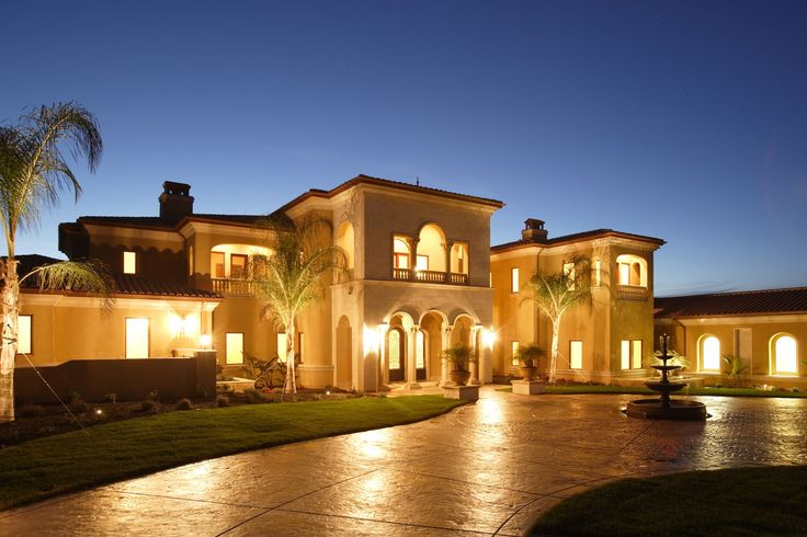 mediterranean home | homes a custom home can be built in any architectural style the home ...