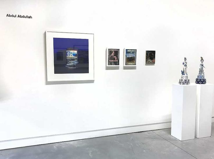 Exhibition Install | Collection of Abdul Abdullah | MAY SPACE Sydney | exhibition enlargement