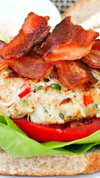 Crab Cake BLTs